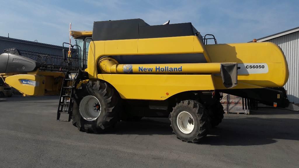 New Holland 6050 CSX, Derliaus nuėmimo kombainai, Žemės ūkis