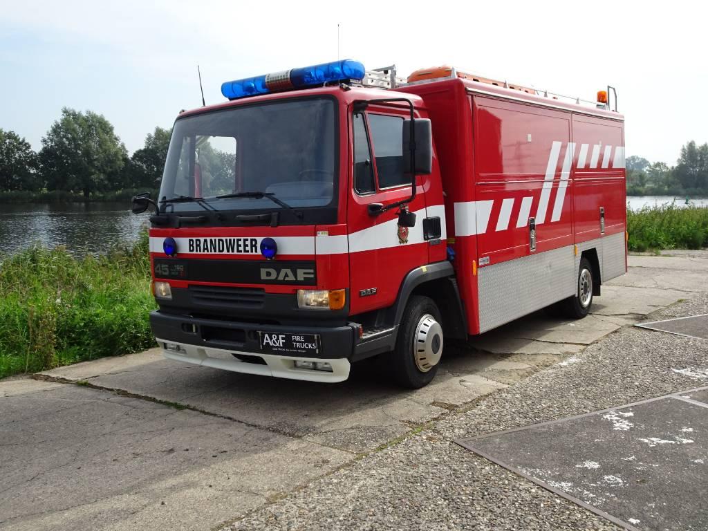 DAF 45-150 Ti Heavy Rescue, Fire trucks, Transportation