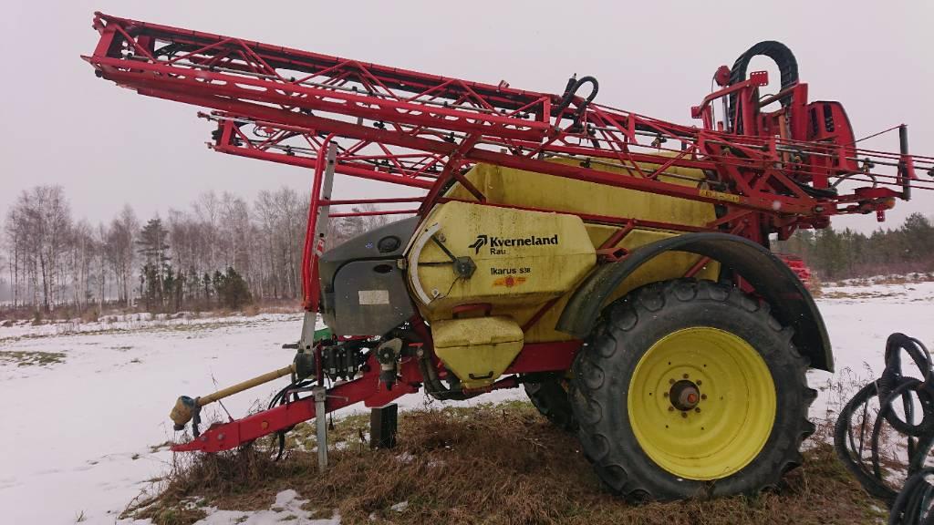Kverneland Ikarus S38, Haagispritsid, Põllumajandus