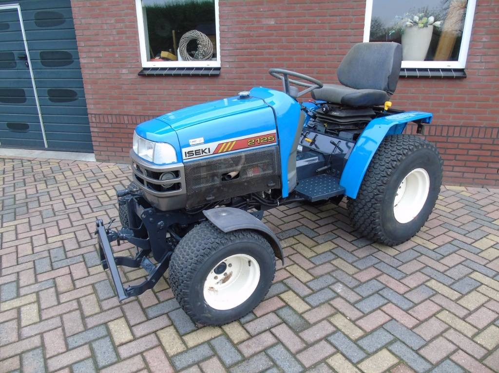 Iseki TM223 tractor hydrostaat fronthef MARGE
