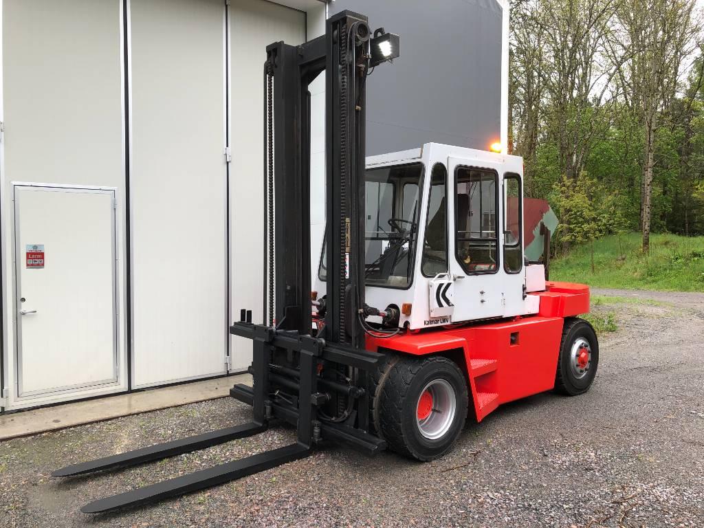 Kalmar DB 7.5-600, Dieselmotviktstruckar, Materialhantering