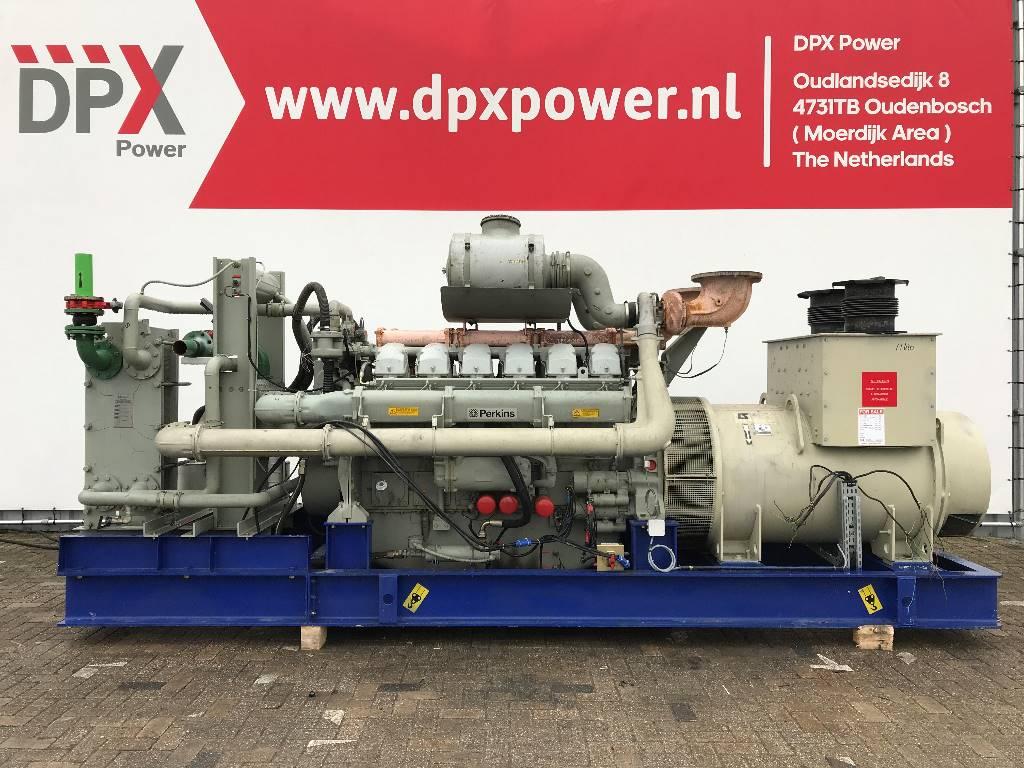 Perkins 4012TAG2 - 1.530 kVA Generator - DPX-11630, Diesel generatoren, Bouw