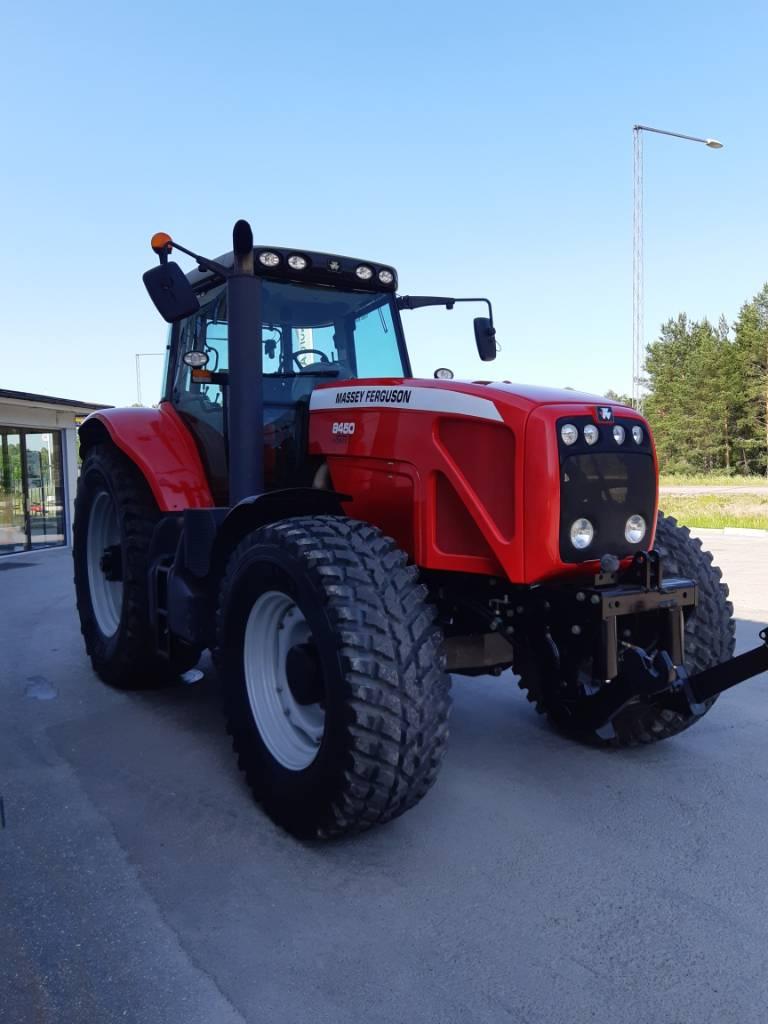 Massey Ferguson 8450 Dyna VT, Traktorer, Lantbruk