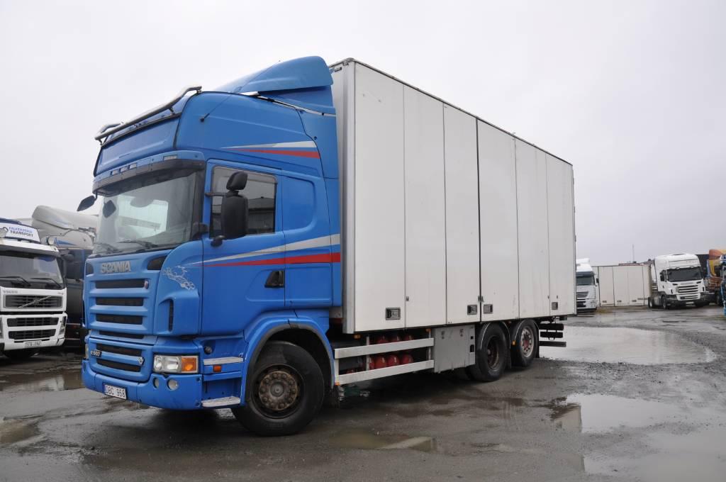 Scania R560 LB 6X2 MNB, Flisbilar, Transportfordon