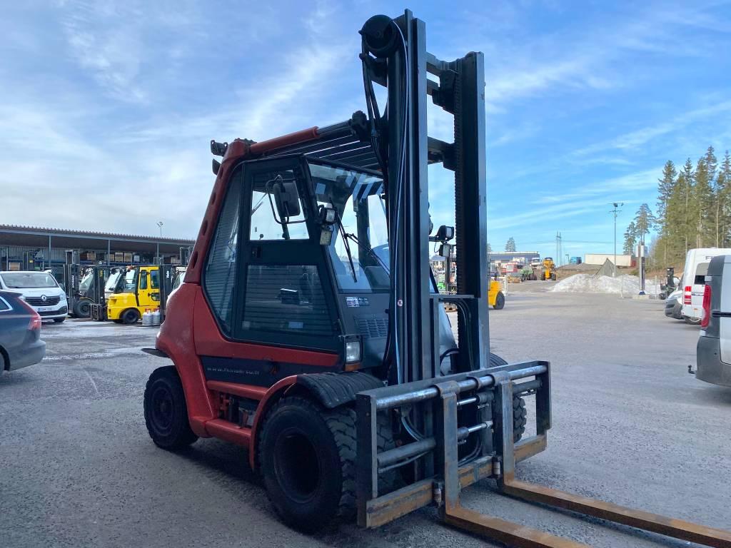 Linde H70D-03, Dieseltrukit, Materiaalinkäsittely