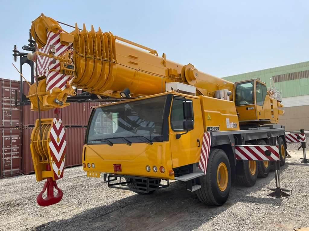 Liebherr LTM1100-5.1, Mobile and all terrain cranes, Construction