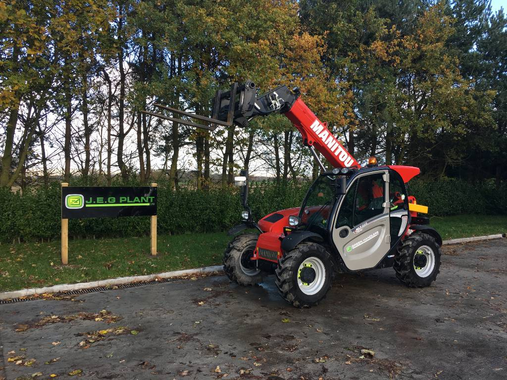 Manitou MLT 625, Telehandlers for agriculture, Agriculture