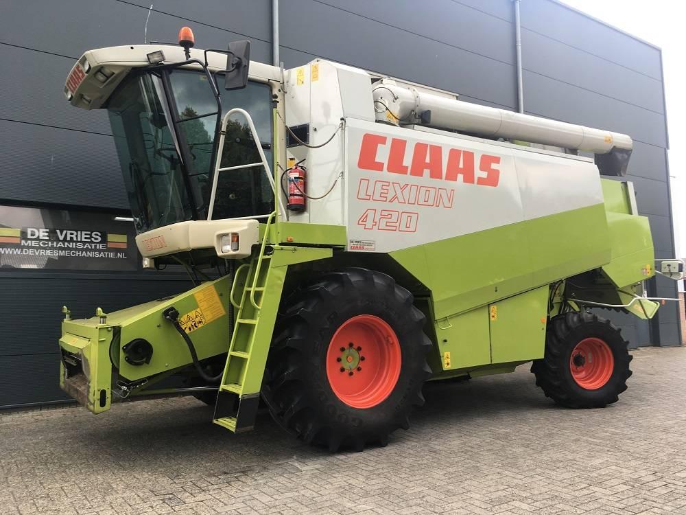 CLAAS Lexion 420, Maaidorsmachines, Landbouw
