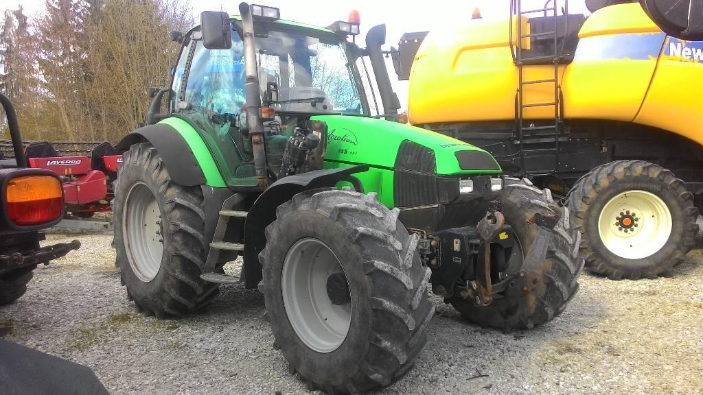 Deutz-Fahr AGROTRON 165 MK3, Traktorid, Põllumajandus