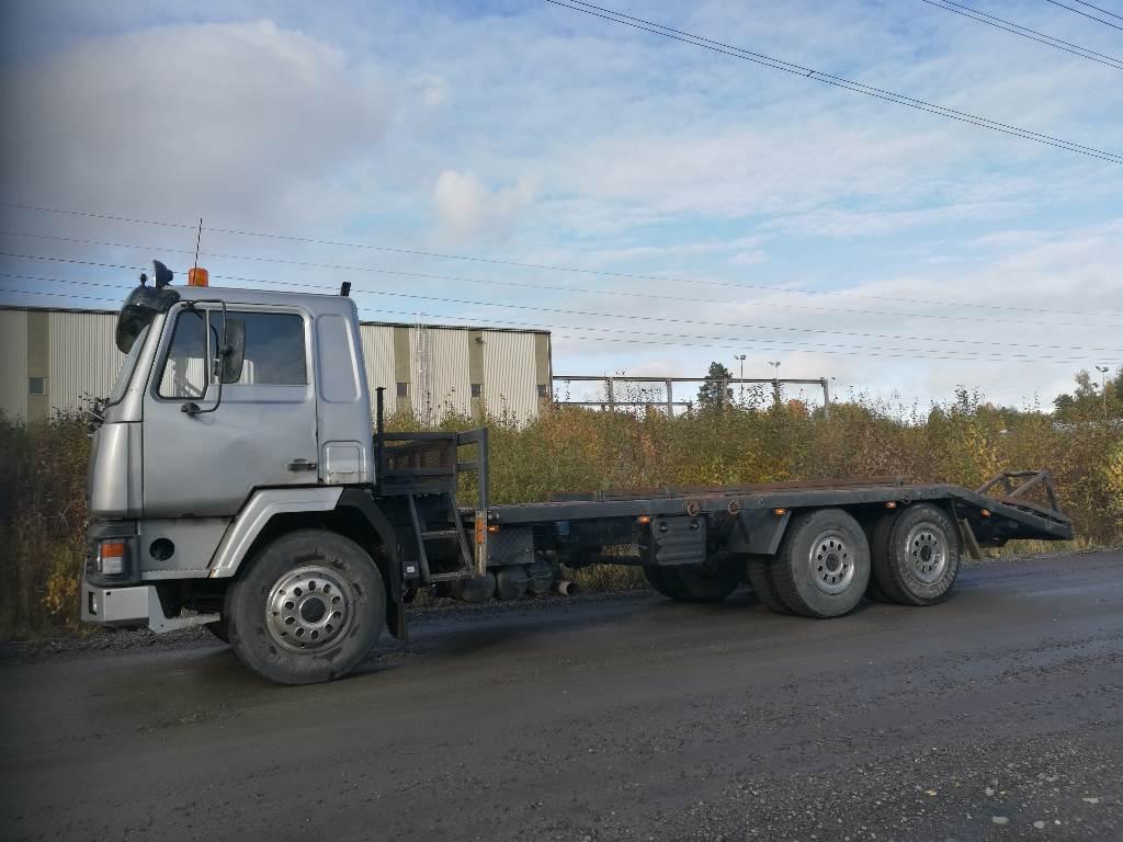 Sisu SK 210 Koneenkuljetusauto, Lava / vinssi kuorma-autot, Kuljetuskalusto