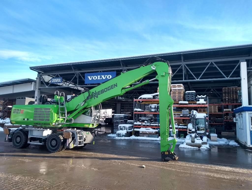 Sennebogen 821 M E, Waste / Industry Handlers, Construction Equipment