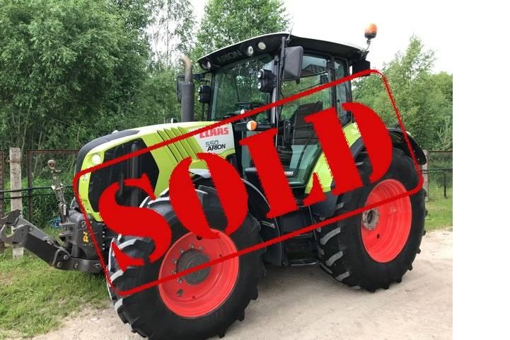 CLAAS Arion 550 Cebis, Traktorid, Põllumajandus