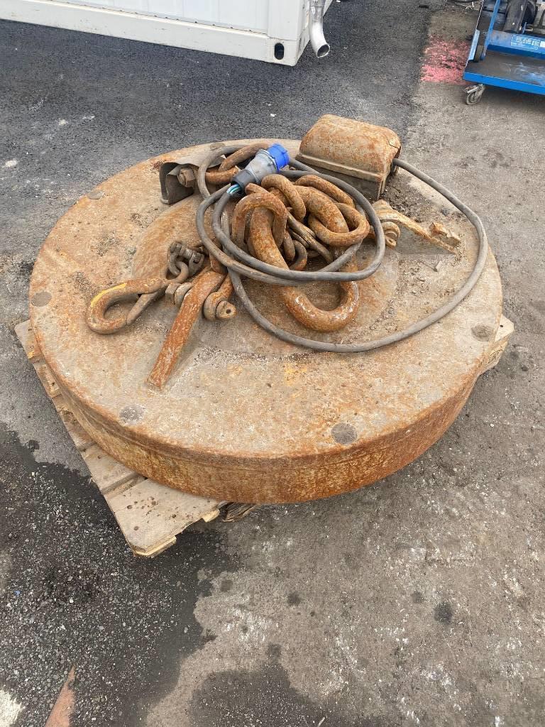 Fuchs Magnet, Utstyr for avfall sortering, Anlegg