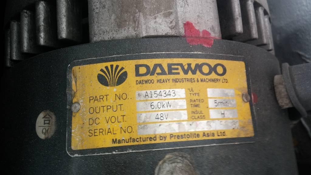 Daewoo B 18 T-2, Carrelli elevatori elettrici, Movimentazione materiali
