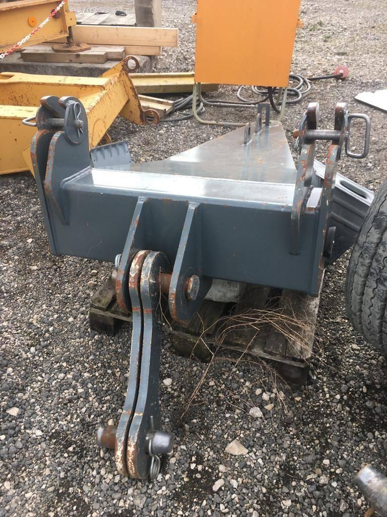 Liebherr L1 24, Kran-Teile und Zubehör, Baumaschinen
