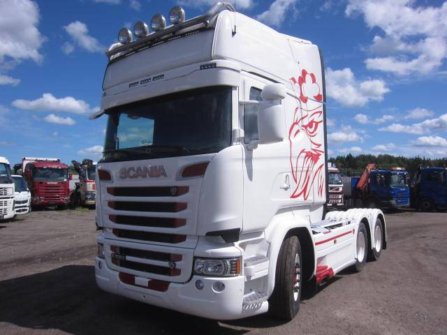 Scania R580 6x4, Dragbilar, Transportfordon