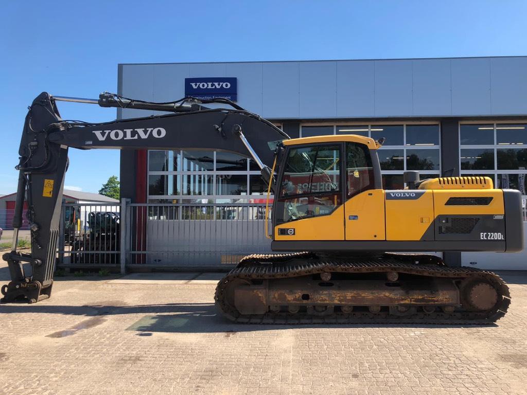 Volvo EC 220 DL, Rupsgraafmachines, Bouw