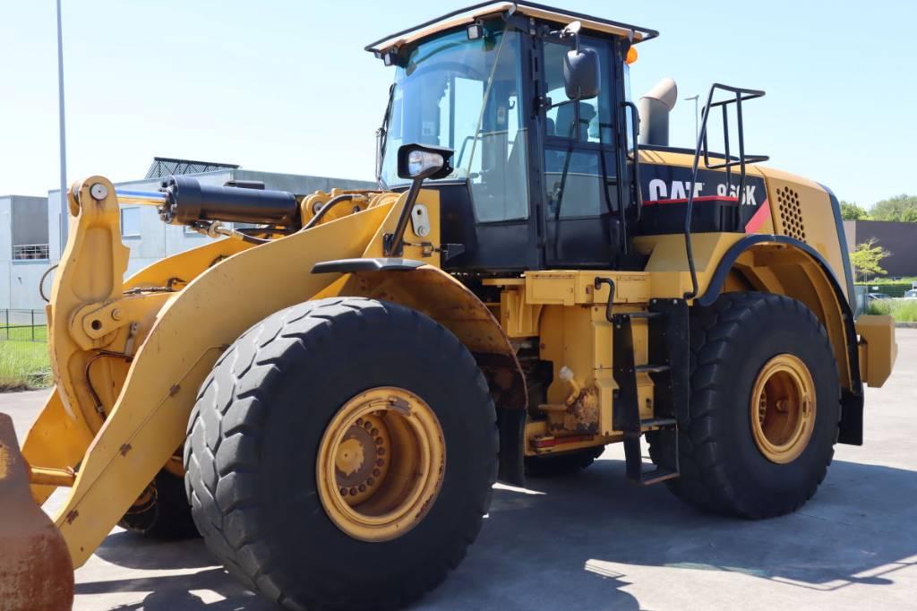 Caterpillar 966K, Wheel Loaders, Construction Equipment