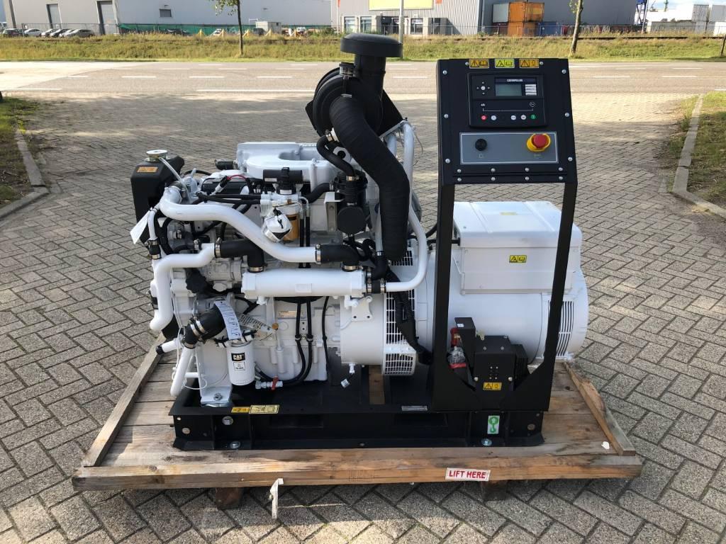 Caterpillar C 4.4 - Marine Generator Set - 86 kVa, Marine auxiliary engines, Construction