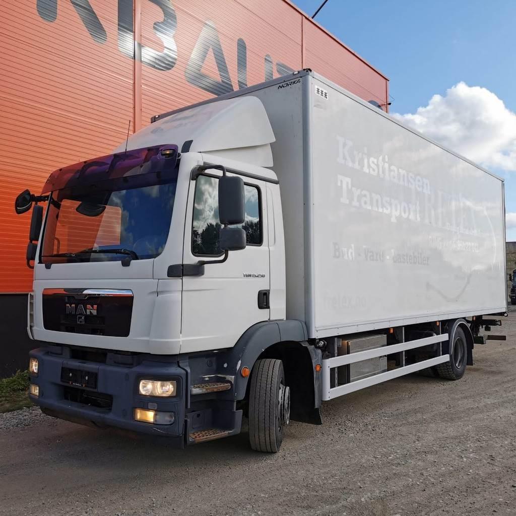 MAN TGM 15.250 4x2, Box trucks, Trucks and Trailers