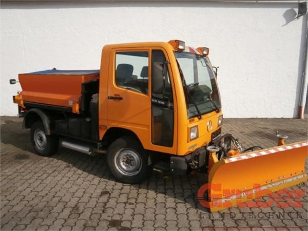Used MB Trac Unimog UX 100 tractors Year: 1997 Price ...