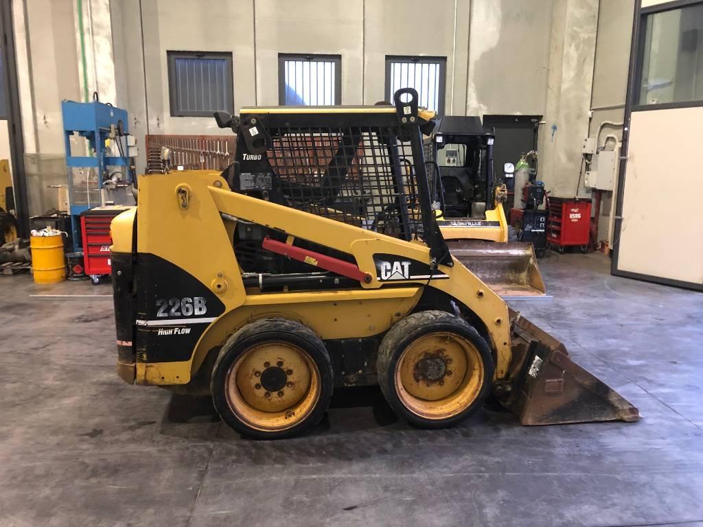 Caterpillar 226B, Mini Loader, Construction Equipment
