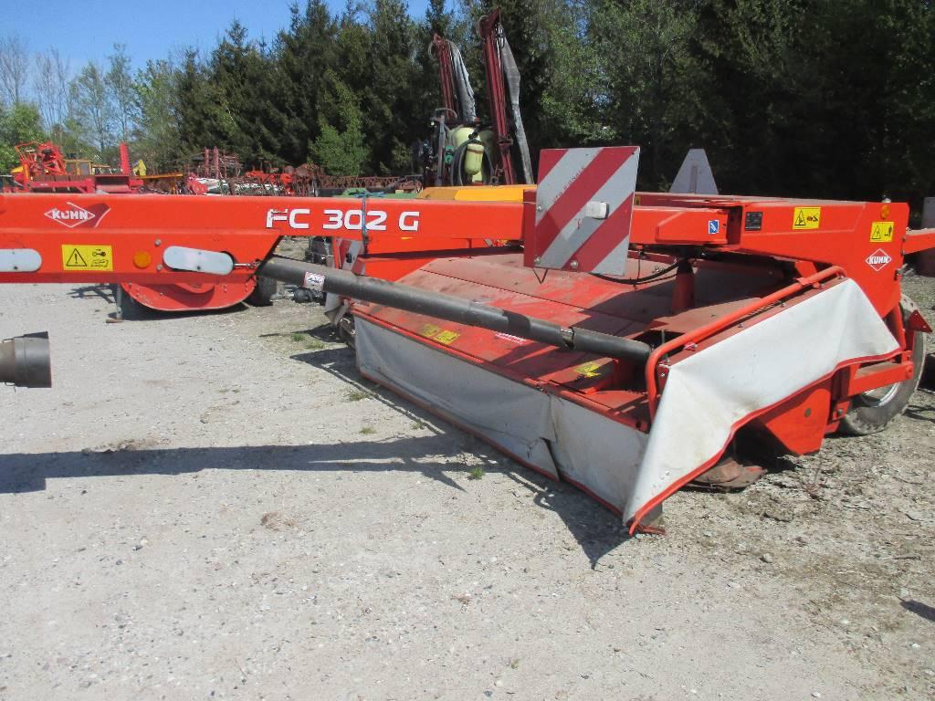 Kuhn FC 302 G, Græsslåmaskiner, Landbrug