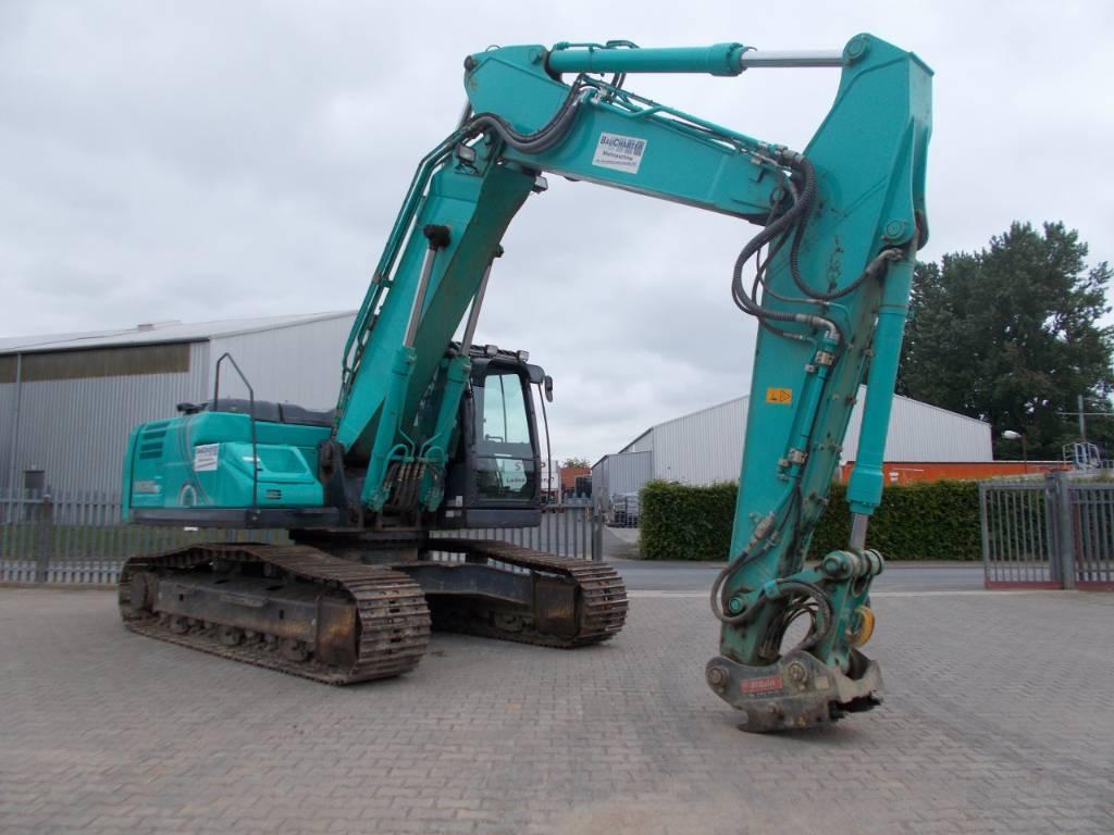 Kobelco SK 260, Raupenbagger, Baumaschinen