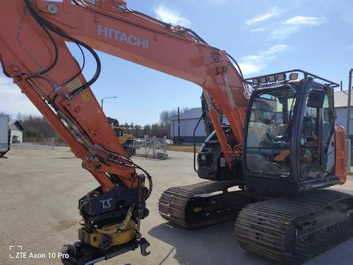 Hitachi ZX135US-5B, Crawler Excavators, Construction Equipment