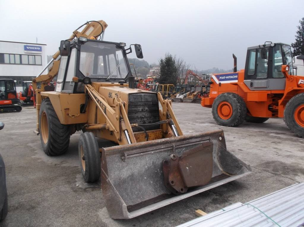 CASE 580 F, Backhoe Loaders, Construction Equipment