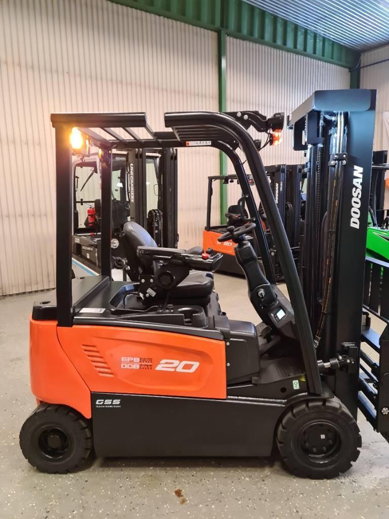Doosan B20X-7 2000 kg HYRA/LEASING/KÖP, Elmotviktstruckar, Materialhantering