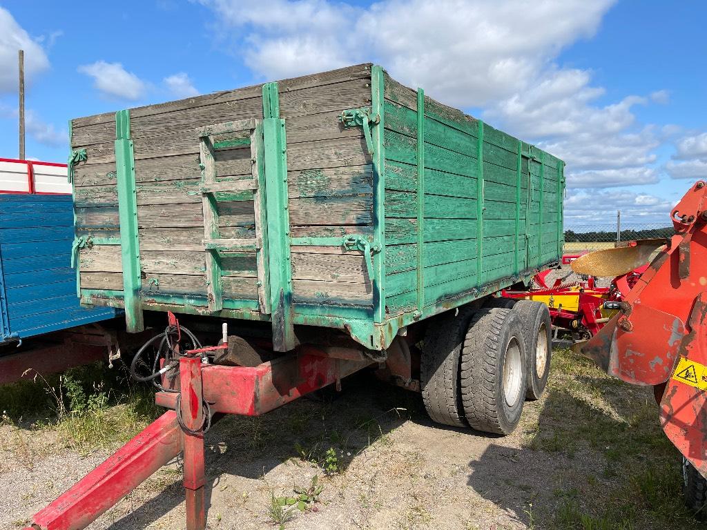 Lastbilskärra Boggie ca 16ton, Spannmålsvagnar, Lantbruk