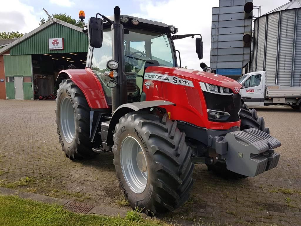 Massey Ferguson 6716S EFF D6, Tractoren, Landbouw