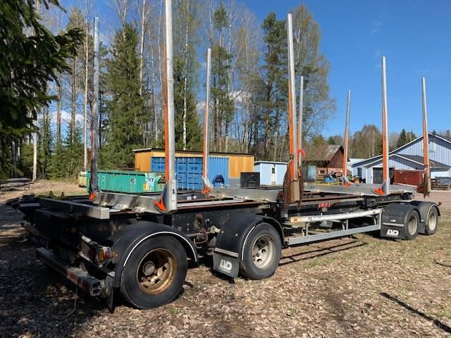 Jyki Timmervagn/timmersläp, Timmersläp, Transportfordon