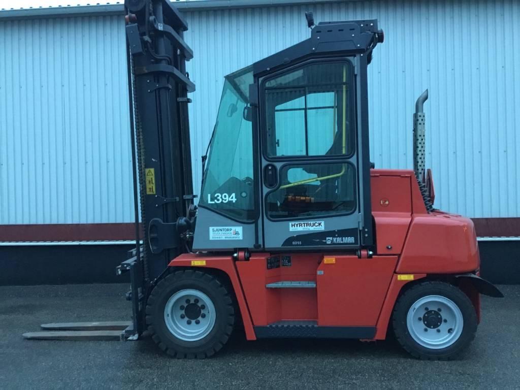 Kalmar DCF 55-6 H, Dieselmotviktstruckar, Materialhantering