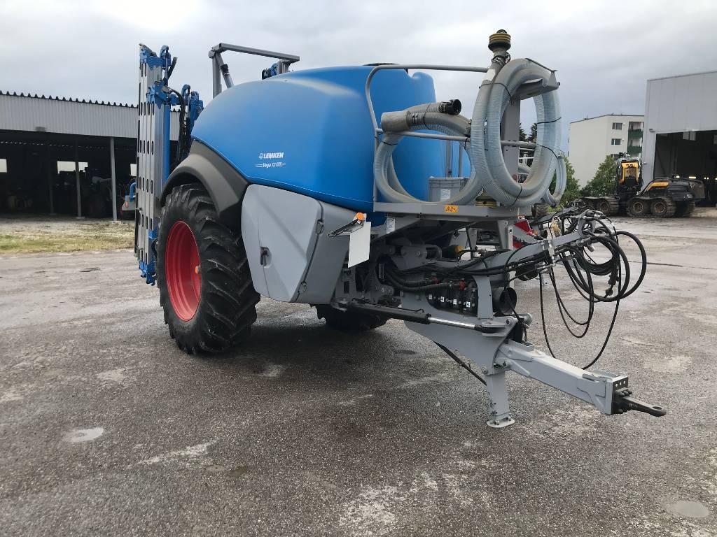 Lemken Vega 12/5000, Haagispritsid, Põllumajandus