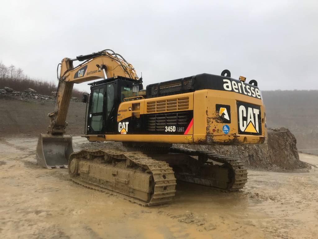 Caterpillar 345 D L ME, Crawler excavators, Construction