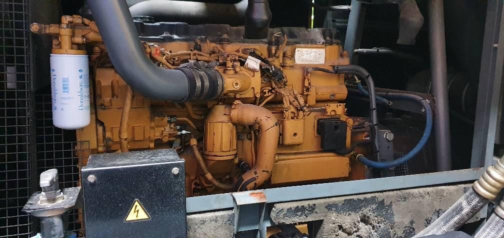 Atlas Copco XAHS 426 CD, Compresores, Construcción