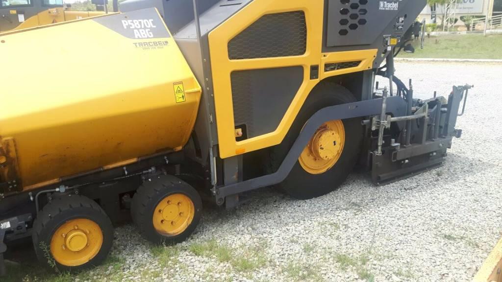 Volvo P5870C, Asphalt pavers, Construction Equipment