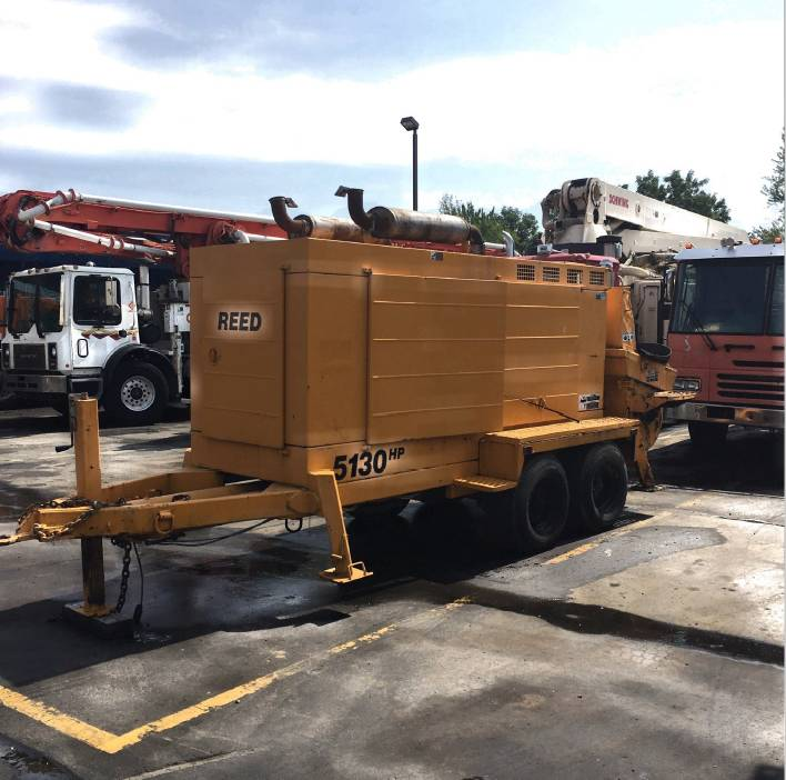 Reed 5130 Trailer Pump, Line Pumps, Construction Equipment