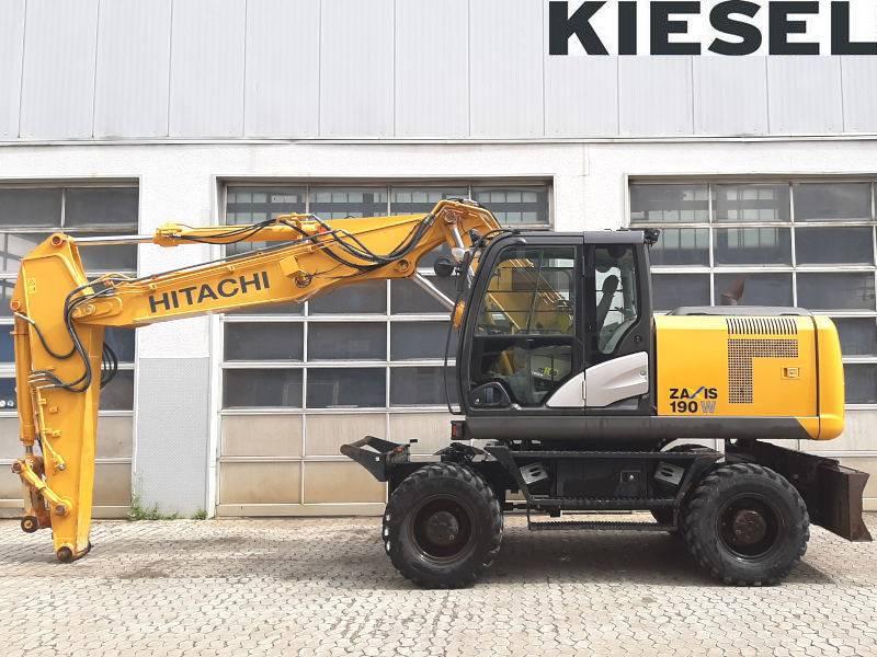 Hitachi ZX 190 W-5, Wheeled Excavators, Construction Equipment