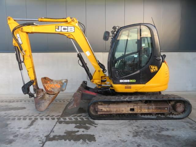 JCB 8085, Midibagger  7t - 12t, Baumaschinen