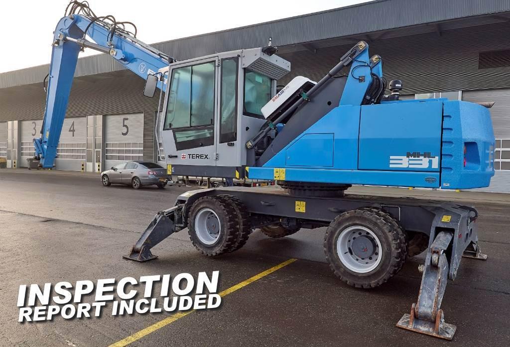 Fuchs MHL 331 E, Waste / industry handlers, Bouw