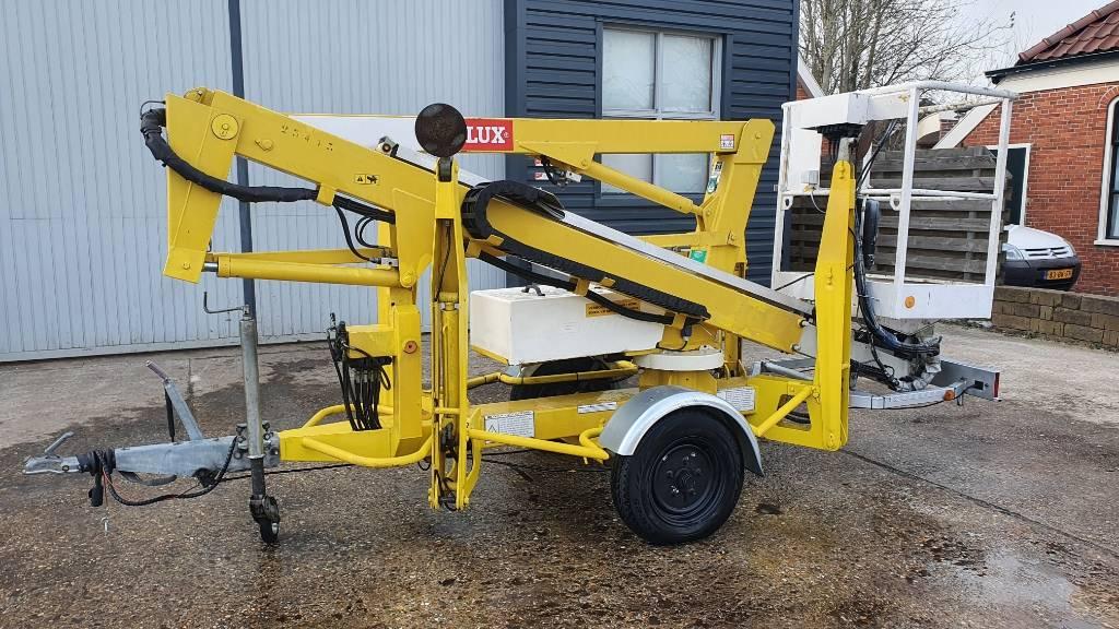 Niftylift 120 T aanhanger hoogwerker, Aanhanger hoogwerkers, Bouw