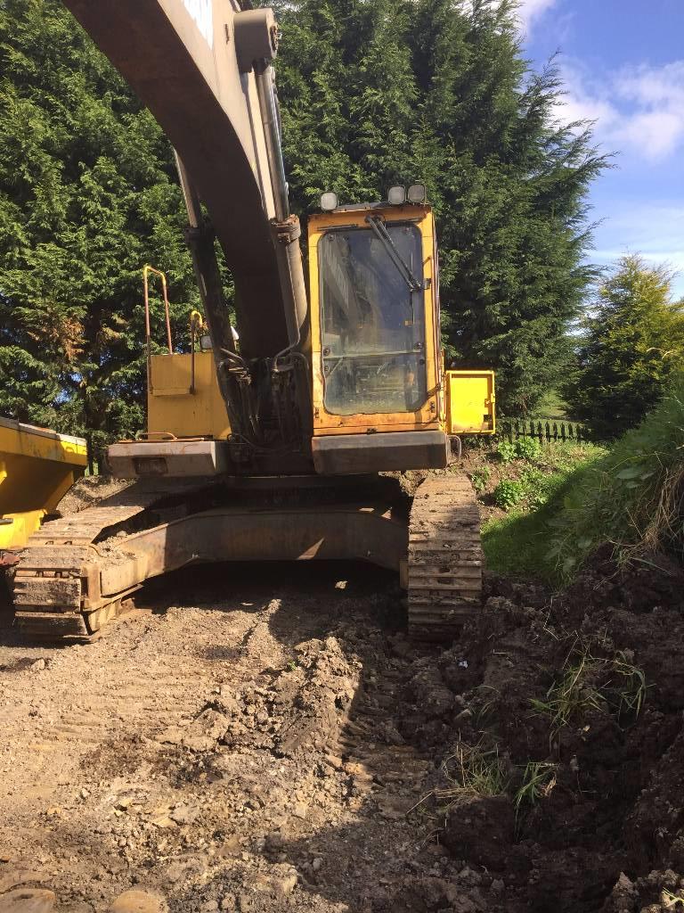 Åkerman EC450, Crawler excavators, Construction