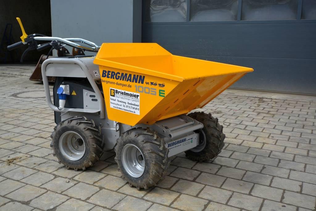 Bergmann 1005-E, Minidumper, Baumaschinen
