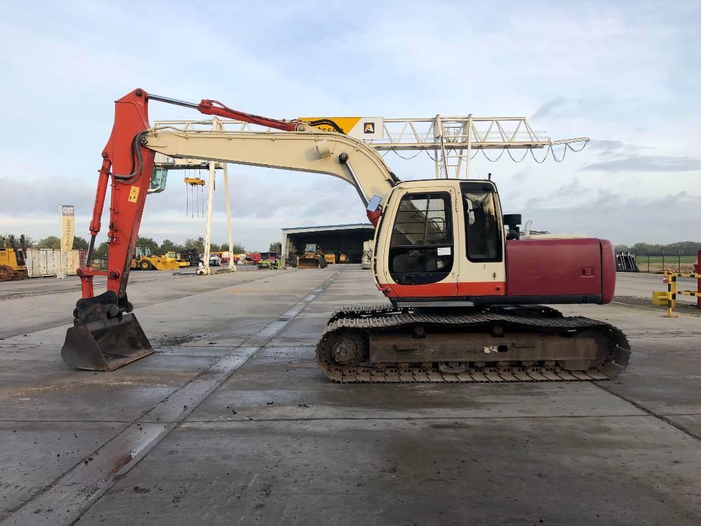 Fiat-Hitachi EX 165, Crawler excavators, Construction