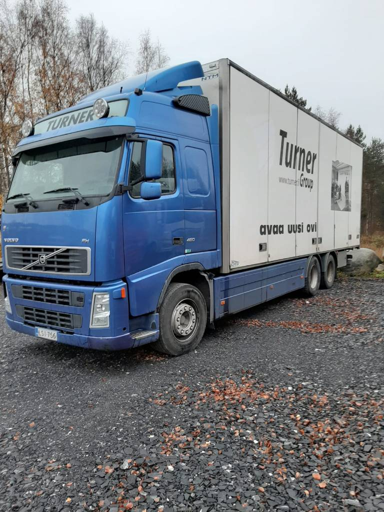 Volvo FH D13, Box trucks, Trucks and Trailers