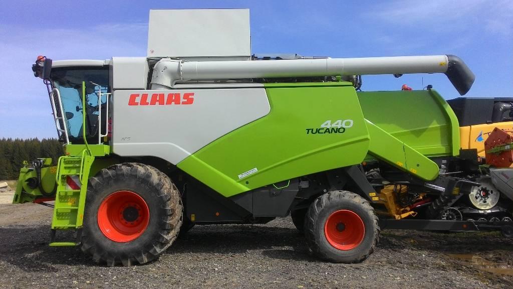 CLAAS Tucano 440, Kombainid, Põllumajandus