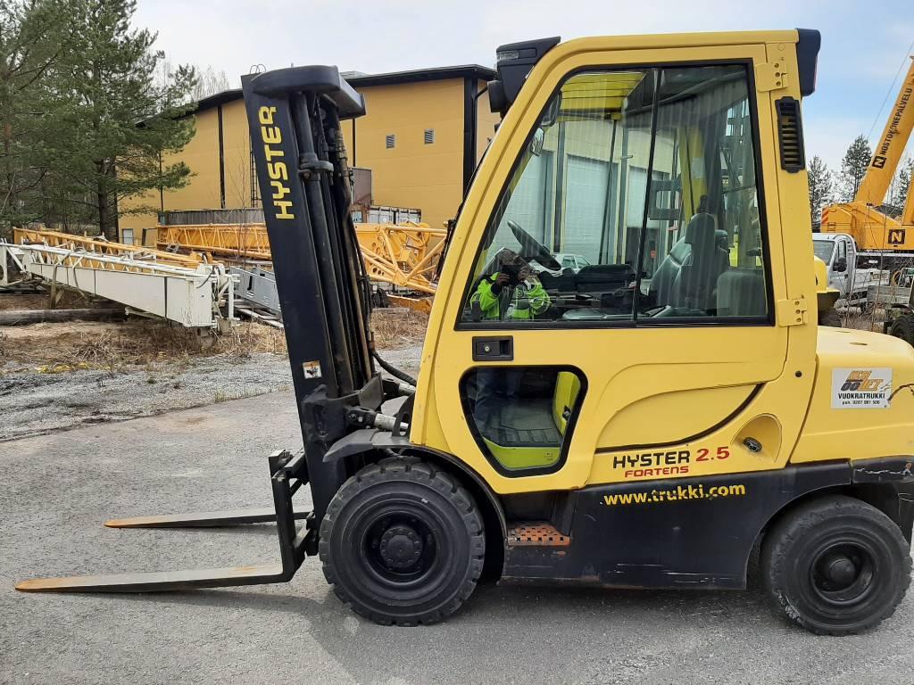 Hyster H 2.50 FT, Dieseltrukit, Materiaalinkäsittely
